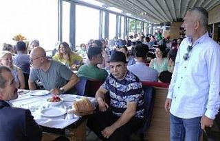 Türkiye MS hastaları Akçakoca'da