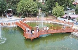 Düzce'deki parklar kentin çehresi değişiyor