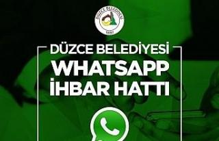 Whatsapp ihbar hattına ilgi büyük