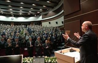 Başkan Dursun Ay il başkanları toplantısına katıldı