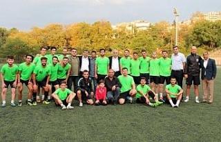 GMİS'ten Merkez Atölyesi Spor'a moral ziyareti