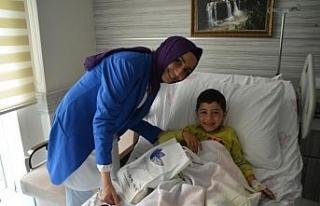 Hasta ziyaretleri moral oluyor