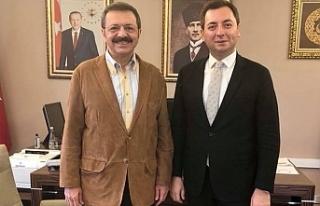 Hisarcılıoğlu, Alagöz'ü ziyaret etti!