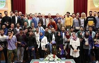 Iraklı misafir öğrencilere 11 farklı kurs eğitimi...