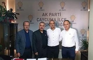 Çaycuma AK Parti yeni başkanını seçti