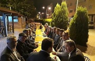AK Parti İl Başkanı Altınöz Yenice'de toplantıya...