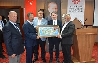 Başkan Uysal, platform üyelerini ağırladı