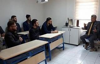 Başkan Yiğit öğrencilerle bir araya geldi