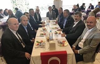 Birlik ve beraberlik kahvaltısında buluştular