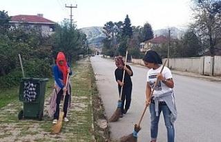 Çilimli sokakları kadınlara emanet