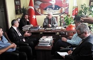 Çivici STK'ları ziyaret etti, destek istedi…