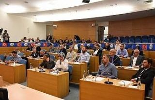 Ekim ayı meclisinde ilk oturumu gerçekleşti