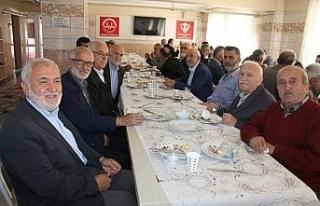 Emekli din görevlileri buluştu...