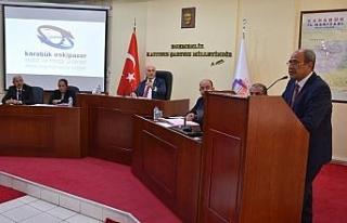 Eskipazar OSB Bölge Müdürü Demir, il genel meclisi...