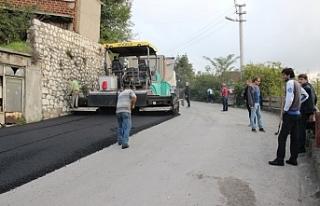 Kadın Doğum Hastanesi yolu asfaltlanıyor!