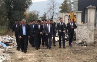 Karcı'dan Vali Çınar'a teşekkür