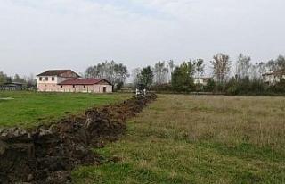 Kazukoğlu Mahallesine yeni içme suyu hattı inşa...