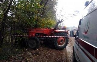 Mantar dönüşü kaza yaptılar: 1 ölü, 1 yaralı