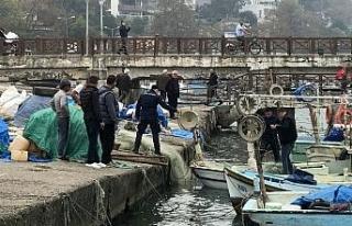 Misine ile avlanan balıkçılara operasyon
