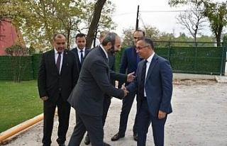 Vali Çeber Özçelik-İş Sendikası çalışmaları...