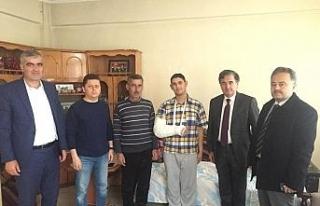 AK Parti teşkilatından Gazi Soylu'ya ziyaret
