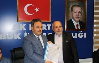 AK Parti'de son başvuru Sedat Namal'dan geldi