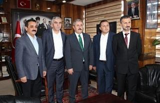 Başkan Destici, GMİS'i ziyaret etti