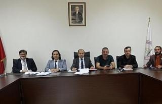 """BEÜ """"Kurum İdare Kurulu"""" toplantısı yapıldı"""