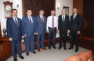 GMİS'ten Vali Bektaş'a ziyaret