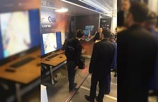 'Güvenli İnternet Tırı' Zonguldak'ta