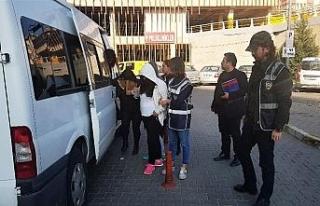 Karabük'te fuhuş operasyonunda 4 kadın gözaltına...