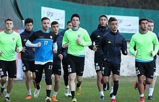 Kardemir Karabükspor'a taraftar desteği