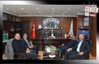 Keleş'ten Demirtaş'a ziyaret