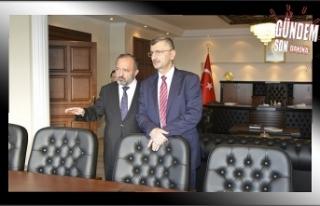 Vali Bektaş'tan Rektör Çufalı'ya ziyaret