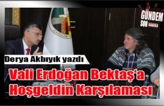 ZGC den Vali Erdoğan Bektaş'a Hoşgeldin Karşılaması