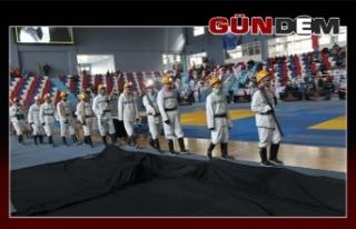 3. Uluslararası Judo Madenciler Kupası için yarışıyorlar