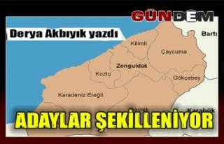 ADAYLAR ŞEKİLLENİYOR