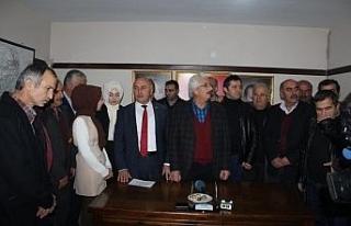 Ahmet Sözen İl Genel Meclis üyeliği başvurusunu...