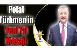 AK Parti Milletvekili Polat Türkmen Yeni Yılı Kutladı