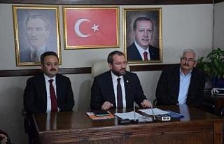 AK Parti Safranbolu ilçe başkanı seçimi için...