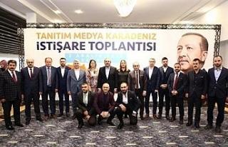 AK Parti Tanıtım ve Medya Başkanları Samsun'da...