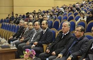 """""""Bağımlılık Tuzağında Gençlik"""" konferansı..."""