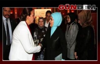 Başkan Güneş, Emine Erdoğan ile görüştü