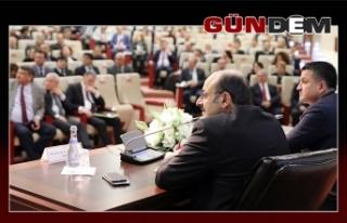 BEÜ'de o toplantıya katıldı