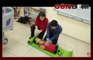 BEÜ'den ilk yardım eğitimi