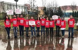 Düzce Üniversitesi öğrencileri hemofili hastalığına...