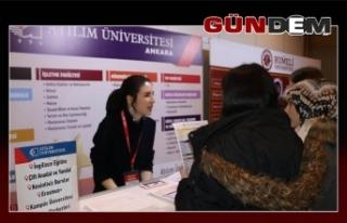 EKET Fuarında Atılım Üniversitesi'ne büyük...