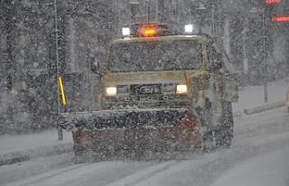 Ereğli Belediyesi kar ile mücadeleye hazır