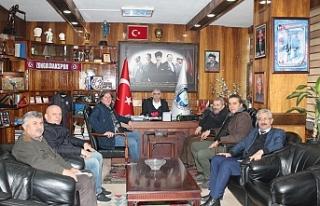 Gazeteciler Cemiyeti'nden GMİS'e ziyaret