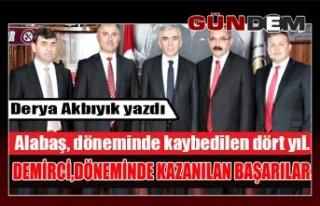 GMİS / DEMİRCİ/ BAŞARI VE GELECEK